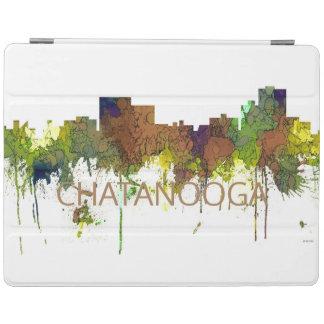 Cuir épais de safari d'horizon de Chatanooga Protection iPad