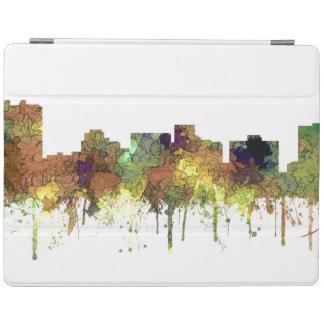 Cuir épais de SG-Safari d'horizon d'Arlington le Protection iPad