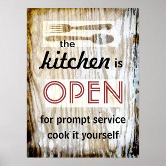 cuisinier humoristique de citation d affiche de cu