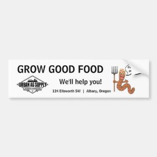 Cultivez la bonne nourriture autocollant de voiture