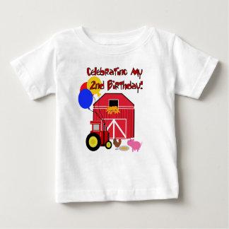 Cultivez le 2ème anniversaire t-shirt pour bébé