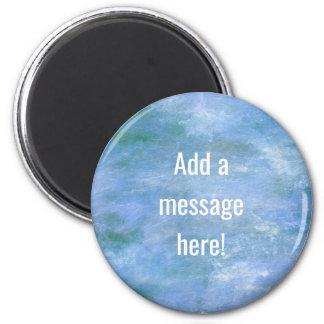 Customisez le votre magnet rond 8 cm