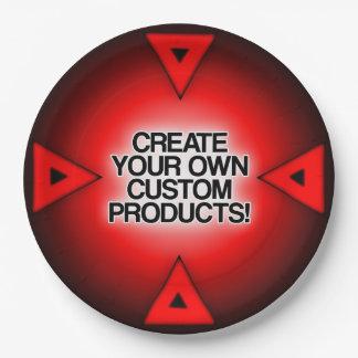 Customisez/personnalisez/créez vos propres assiettes en papier
