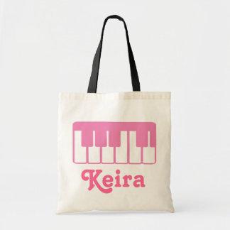 Customisez un sac fourre-tout à musique de piano