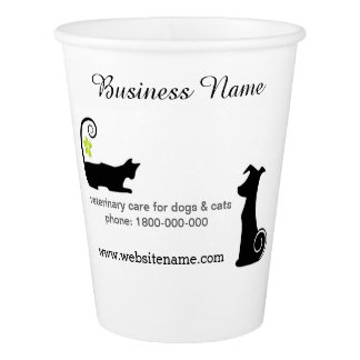 Customisez votre tasse jetable de services de gobelets en papier