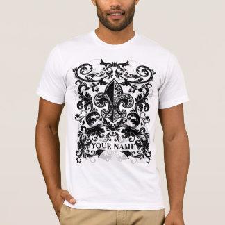 Custromizable Ammun Fleur floral #1 T-shirt