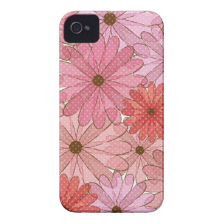 cute flowers coque Case-Mate iPhone 4
