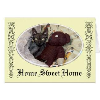 """Cutie-tarte"""" carte à la maison douce """"à la maison"""