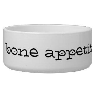 Cuvette de chien d'Appetit d'os Bol Pour Chien