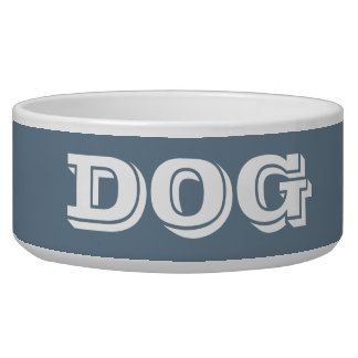 Cuvette de chien par Janz grand dans le gris