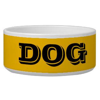 Cuvette de chien par le grand or de Janz Gamelle Pour Chien