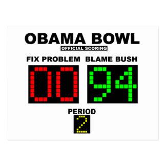 Cuvette d'Obama - marquage officiel Carte Postale