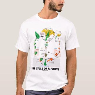 Cycle de vie d'une fleur (angiosperme de biologie) t-shirt