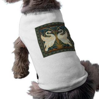 Cygne de grue de Walter, précipitation et art T-shirt