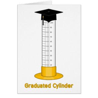 Cylindre gradué - carte