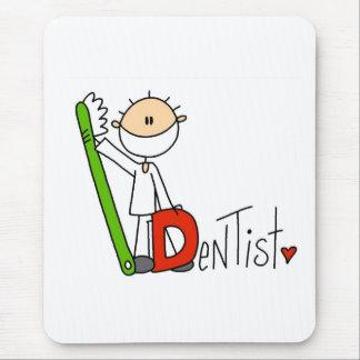 D is voor Tandarts Muismatten