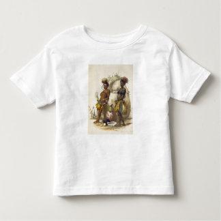Dabiyaki et Upapazi, garçons de zoulou dans la T-shirt Pour Les Tous Petits