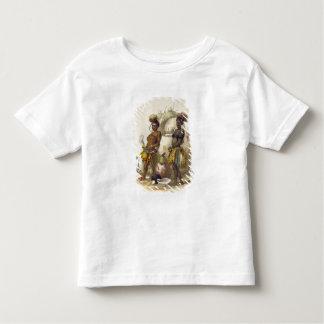 Dabiyaki et Upapazi, garçons de zoulou dans la Tshirts