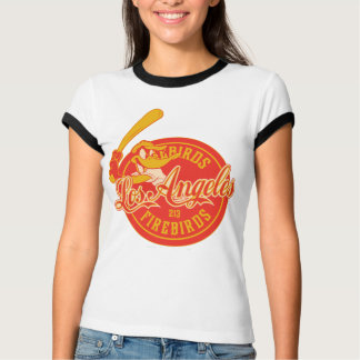 DAFFY Logo van DUCK™ Los Angeles Firebirds T Shirt
