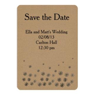 Daisy Delight Wedding Invite Kaart
