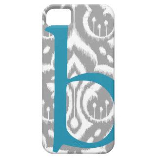 Damassé décorée d'un monogramme d'Ikat iPhone 5 Case