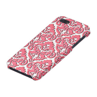 Damassé française rose Girly iPhone 5 Case