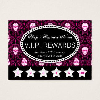 Damassé morte - la fidélité récompense la carte