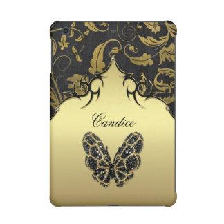 Damassé ornée de bijoux de papillon