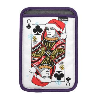 Dame de trèfle de Joyeux Noël Housse iPad Mini
