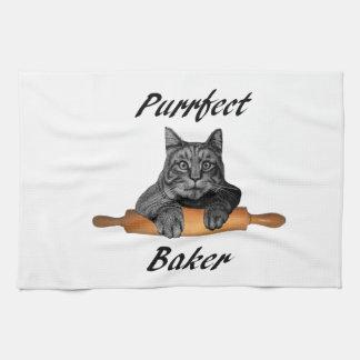 Dame folle de chat de cadeaux de chat de Baker de Linge De Cuisine