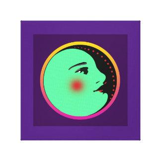 """Dame in Maan 12 het Verpakte Canvas van """" X12"""""""
