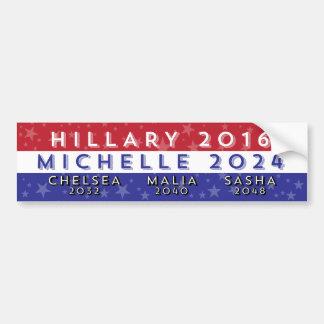 Dames Democratic pour le président 2016-2056 Autocollant De Voiture