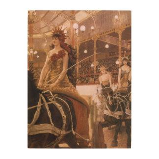 Dames des voitures (cirque) par Tissot, art