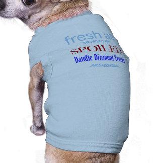 Dandie corrompu Dinmont Terrier T-shirt