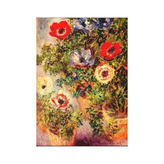 D'anémones toujours beaux-arts de Monet de la vie Toiles