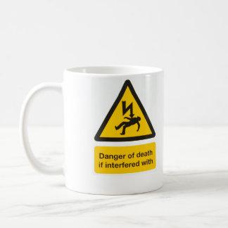 Danger de la mort mug