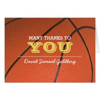 Dankt de Gouden Bar mitswa van het basketbal u Kaart