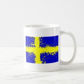 dans au ciel, la Suède Mug