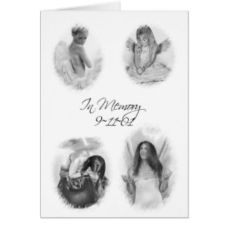 Dans la carte d'anges de la mémoire 911