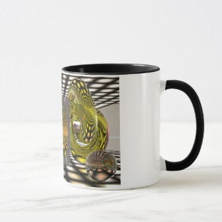 Dans la magie mug