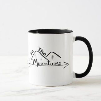 Dans la tasse de montagnes