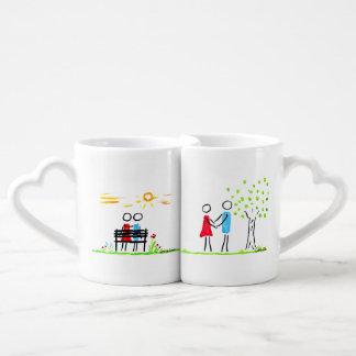 dans l'amour mug
