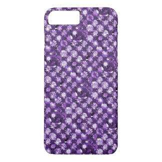 dans le pourpre violet d'améthyste coque iPhone 8 plus/7 plus