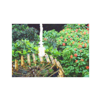 Dans les tropiques copie enveloppée de toile