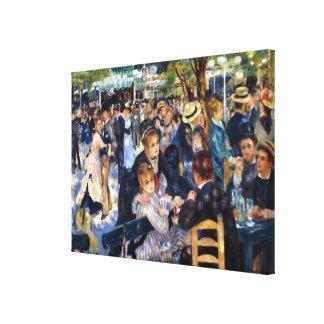 Danse aux beaux-arts de Galette Renoir de La de Le Toiles