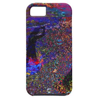 Danse, boissons de partie dans de pleines couleurs étuis iPhone 5