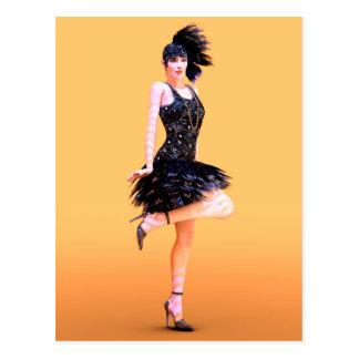 Danse d'aileron carte postale