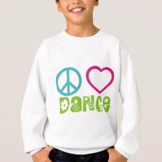Danse d'amour de paix sweatshirt