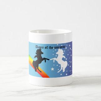 Danse des licornes, danse des licornes mug blanc