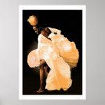 Danse folklorique africaine affiches